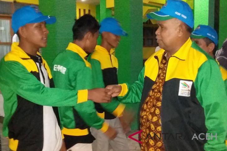 Aceh Timur target masuk 8 besar perolehan medali Porseni
