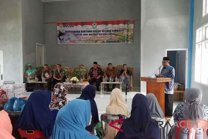 KPM Aceh Barat terima bansos rastra