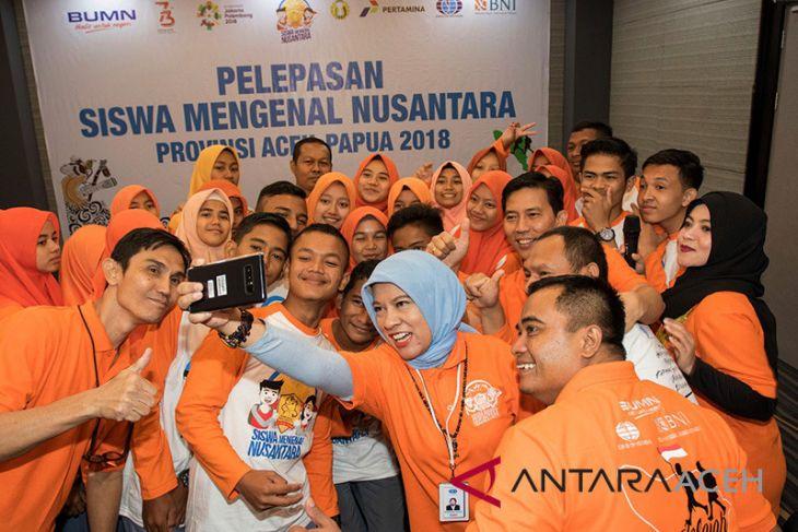 Pelepasan Siswa Mengenal Nusantara Aceh