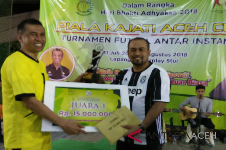 Bank Aceh boyong Piala Kajati