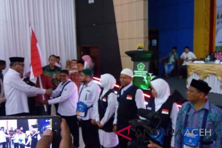 Kloter pertama Aceh tiba Jumat malam