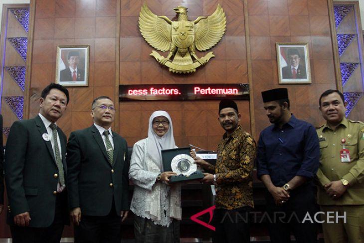 Delegasi Thailand bertemu DPR Aceh