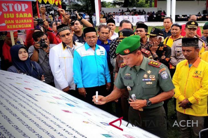 Dandim Aceh Barat ajak wujudkan pemilu damai