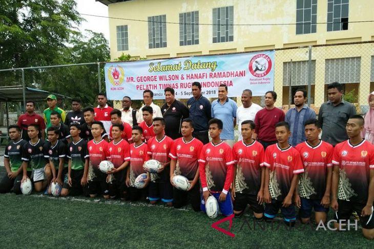 Pelatih timnas pantau atlet rugby Aceh