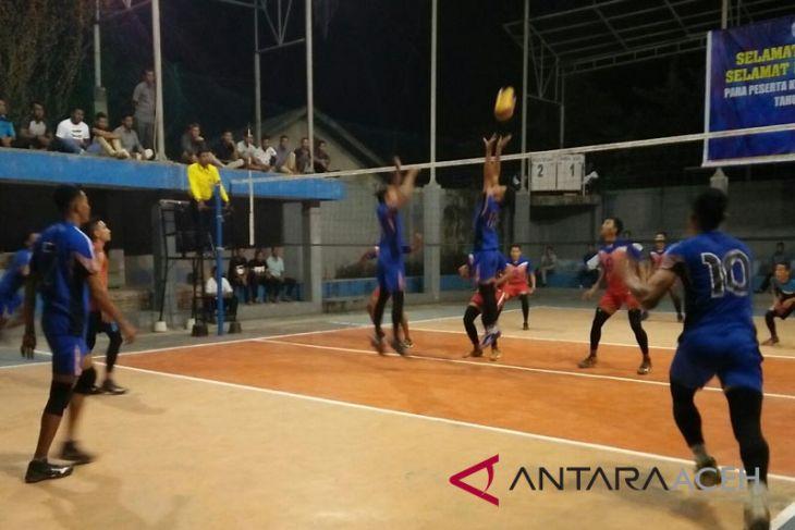 Delapan tim bersaing di Kejurprov voli Aceh