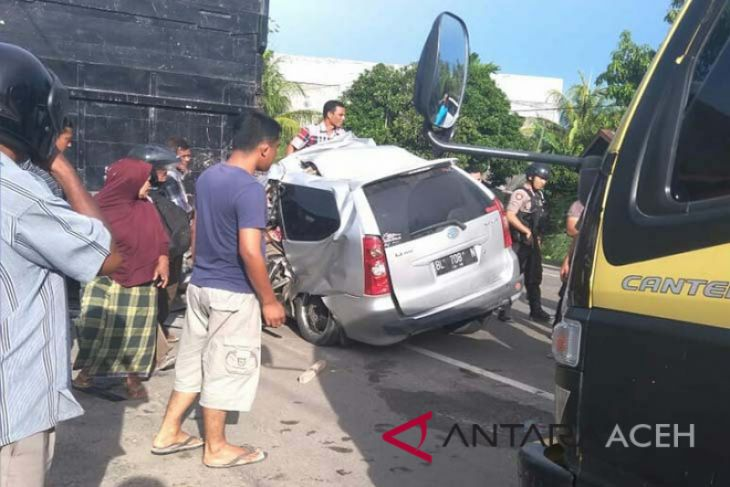 Tabrakan maut di Aceh Utara rengut tiga nyawa