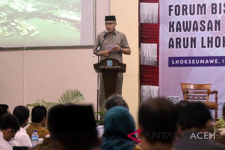 Gubernur Aceh buka forum KEK Arun