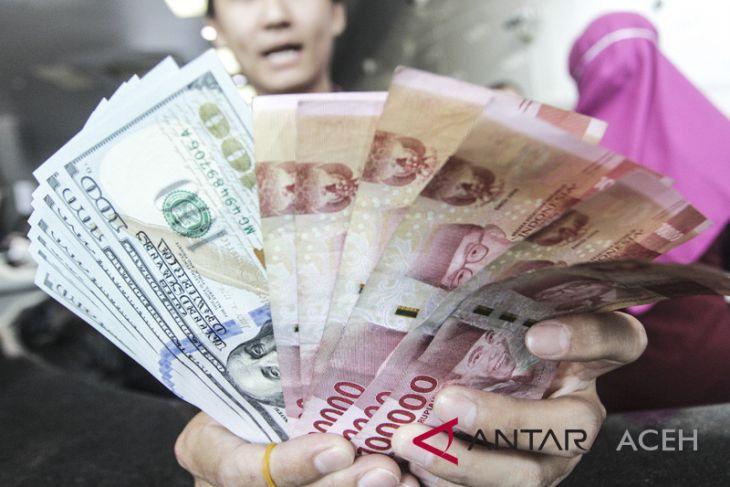 Kurs rupiah berpeluang melemah akibat sentimen global