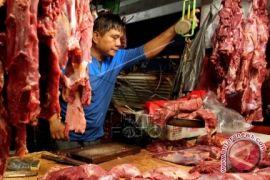 Harga daging sapi segar di Ambon bertahan