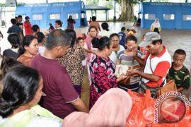 Pengungsi di Lantamal IX/Ambon Terus Bertambah