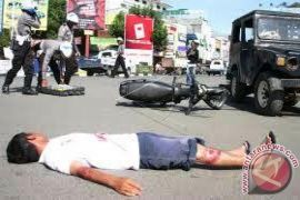 Ditlantas Latih Penanganan Kecelakaan Terpadu
