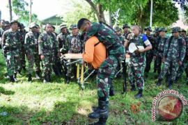Korem Binaiya Gelar Latihan Penanggulangan Bencana
