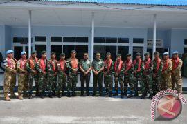 Pangdam sambut Satgas TNI Kongo dan Tinombala