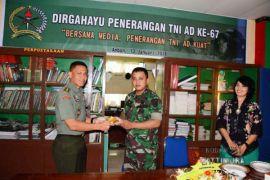 Pendam Pattimura Gelar Syukuran HUT ke-67 Penerangan TNI AD