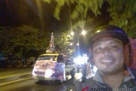 SSB Indonesia Muda diarak di Ternate