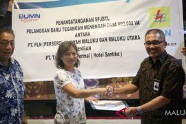 PLN Maluku-Hotel Santika Ambon MoU SPJBTL