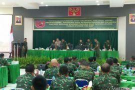 Kodam Pattimura gelar rapim 2108 di Ambon