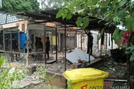 Ratusan personel kawal eksekusi rumah di Ambon