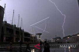 BMKG: Ambon dan Tual Berpotensi Hujan Petir