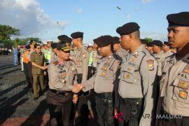 Polda Maluku libatkan 7.916 personil amankan lebaran