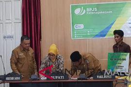 BPJS Ketenagakerjaan-Pemkab Halsel Jalin Kerjasama