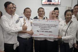 Menteri BUMN salurkan bantuan di Maluku Utara