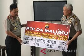 Polda Maluku-PDB kirim bantuan kemanusiaan ke Lombok