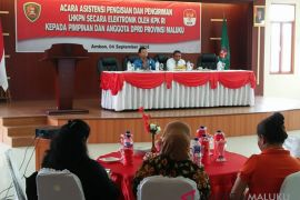 Tiga anggota DPRD Maluku lengkapi LHKPN