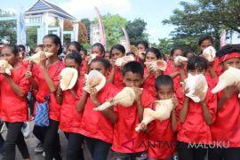 47 komunitas meriahkan karnaval musik Ambon