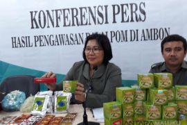 BPOM Maluku amankan 41.672 produk TMK
