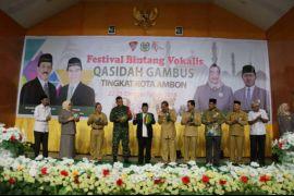 Festival qasidah gambus lestarikan religius masyarakat Ambon