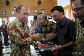Gubernur serahkan DIPA Maluku 2019 Rp20,18 triliun