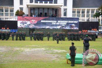 Kodam XVI/Pattimura Gelar Upacara HJK di Ambon