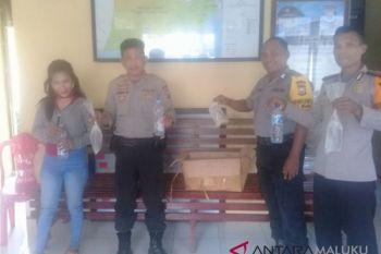 Polres Ternate gagalkan pengiriman puluhan liter miras