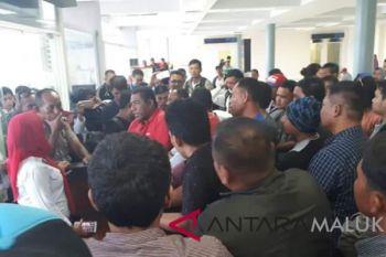 Penumpang di bandara Babullah Ternate melonjak