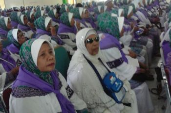 Calhaj tertua asal Maluku berusia 91 tahun