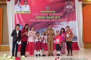 Wagub rayakan HAN bersama 500 anak Maluku