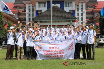 BUMN Hadir - SMN Riau kunjungi Unpatti Ambon