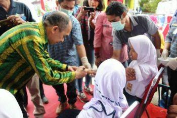 Capaian vaksin MR di Ambon 60,96 persen