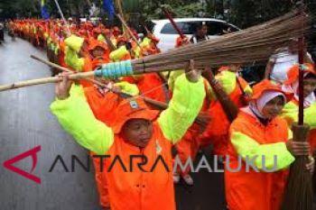 Pemprov Malut selesaikan pembayaran honor petugas kebersihan