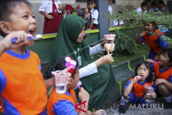 Ambon kampanyekan kesehatan gigi semarakkan BKGN