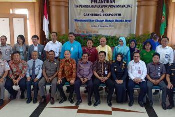 Gubernur lantik tim peningkatan ekspor Maluku