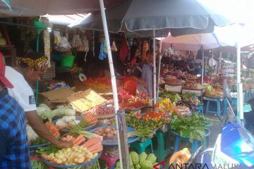 Harga berbagai jenis sayuran di Ambon bertahan
