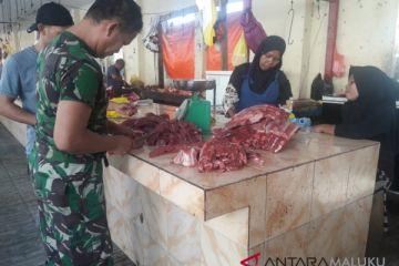 Harga daging sapi di Ternate turun