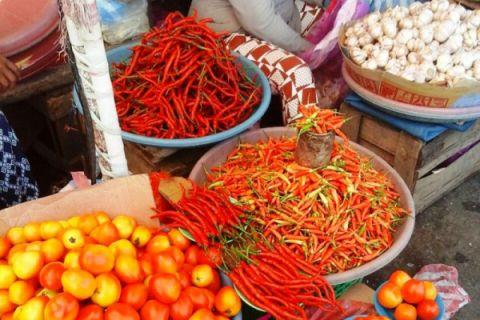 Harga cabai rawit di Ambon turun tajam