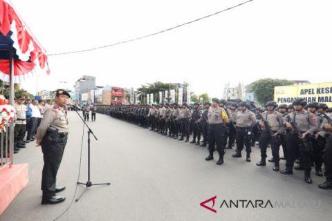 750 personel Polda Maluku ditempatkan di Polres
