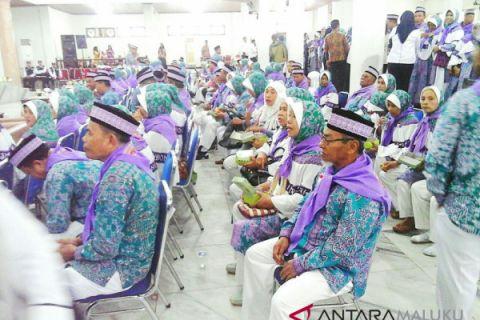 Calhaj Kota Ambon tertua umur 91 tahun