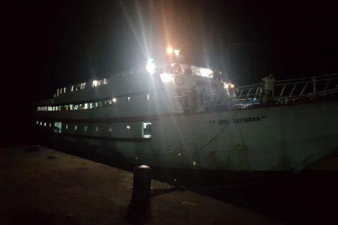 Syahbandar pelabuhan Tobelo buka posko transportasi laut