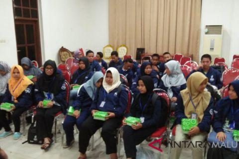BUMN Hadir - Rombongan SMN Riau Tiba di Ambon