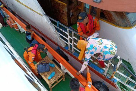 Basarnas evakuasi KM Bajoe di perairan Tidore